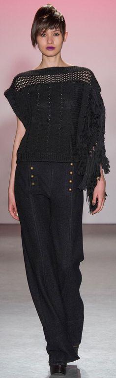 Nanette Lepore, fall 2015 Ready-to-Wear