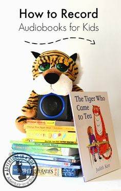 How to Record Audiobooks for Toddlers: It's difficult to find audibooks for toddlers but guess what? You can record them yourself! Or ask grandparents aunts and uncles. Creative Activities For Kids, Easy Crafts For Kids, Hands On Activities, Literacy Activities, Infant Activities, Creative Kids, Reading Activities, Toddler Preschool, Toddler Crafts