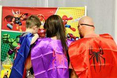 JOAQUIN'S AWESOME SUPERHERO SQUAD BIRTHDAY  | CatchMyParty.com