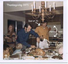 #ThrowbackThursday - Thanksgiving 1971