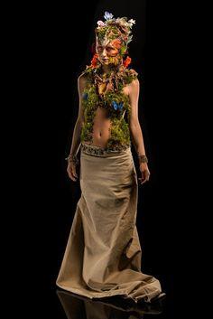 Syfy Face Off Season 5 Episode 5 - Mother Earth Goddess Spotlight Challenge - Laney