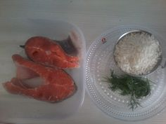 Simple&Easy FOOD to make. Salmon&Rice. Recommended. Healthy EAT FISHES. Recommended FINNISH.