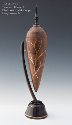 """*Wood Sculpture - """"Out of Africa"""" by Larry Weese Jr."""