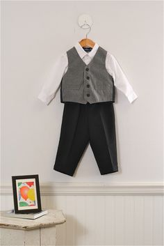 Adorable 3-piece set in size 18-24 Mo. Boys by Dockers. Guaranteed like-new and just $25.99