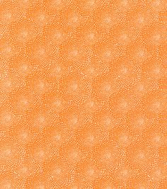 Valori Wells tela de algodón-Flor puntos mandarina