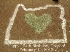 Happy Birthday, Oregon ❤