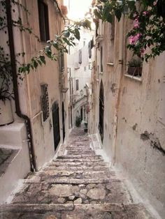 Would love to walk down stairs like these someday!!...