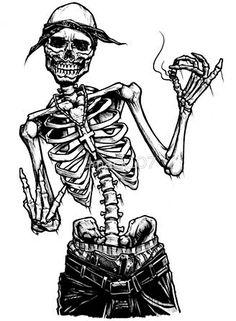 Skeleton Drawings, Skeleton Art, Tattoo Drawings, Art Drawings, Tattoos, Tupac Tattoo, Hop Tattoo, Tattoo Fonts Alphabet, Graffiti Lettering Fonts