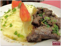 Bifes de Fígado à Madeirense | Beef liver steaks