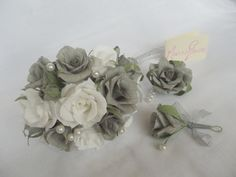 Wedding bouquetbridal bouquetpaper flower by Mazziflowers on Etsy, $35.00
