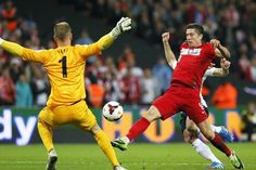 Hart added to the excitement with a fine save to deny Lewandowski
