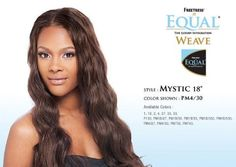 """Shake-n-go Freetress Equal Weave Mystic 18"""" Color PM4/27 by Freetress. $7.99. curling iron safe up to 400 F. free bang piece included. this item is for weaving, it is not a wig"""