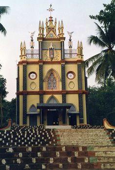 Beautiful Church in Kerala