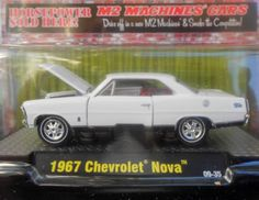 M2 MACHINES 2009 DETROIT-MUSCLE 1:64 DIE-CAST 1967 CHEVY NOVA FREE SHIPPING!!