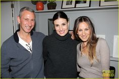 Sarah Jessica Parker Visits Idina Menzel at Broadway's 'If/Then' | sarah jesssica parker idina menzel if then broadway 02 - Photo