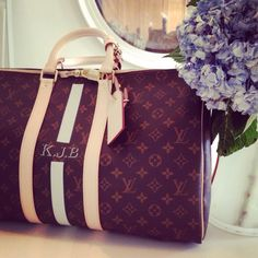You're never too young to travel in style #livinginstyle #louisvuitton