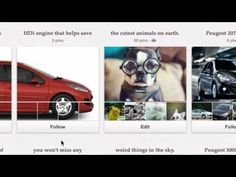 Peugeot: Tribu DDB, Panama was briefed to make a social strategy for Peugeot. They did not only make a Facebook,Twitter and Foursquare page, they also went on Pinterest, the best growing social platform of 2012..
