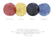 PatrioticSparkleBrushstrokes *I can totally see you doing these colors, great for you, super fun, very elegant - love!