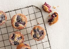 Blackberry Financiers via Bon Appetit