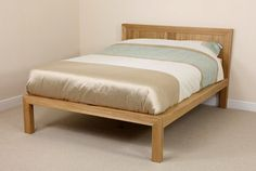 From single to super king size, our solid oak beds are the ideal feature piece in any bedroom and will look beautiful for years. solid wood, built to last. Solid Oak Beds, Oak Furniture Land, Oak Bedroom, Double Beds, Fresco, King Size, Interiors, Natural, Home Decor