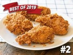 KFC Extra Crispy Fried Chicken (Improved) copycat recipe by Todd Wilbur Crispy Fried Chicken, Fried Chicken Recipes, Baked Chicken, Fish Recipes, Copycat Recipes, Gourmet Recipes, Sauce Recipes, Dessert Recipes, Desert Recipes