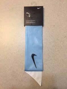 Custom Carolina (Light   Sky ) Blue Nike Dri-Fit Head Tie Headband - 208e9041682