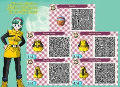 animal crossing qr codes dragon ball - Google Search
