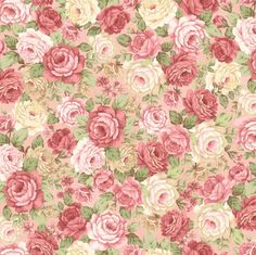 Peaceful Garden Floral Fabric Henry Glass-8698 by DivinesFabricNook on Etsy
