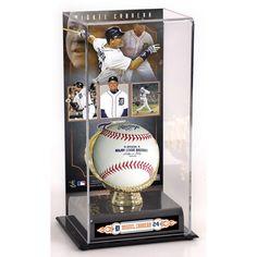Miguel Cabrera Detroit Tigers Fanatics Authentic Gold Glove Baseball Display Case - $49.99