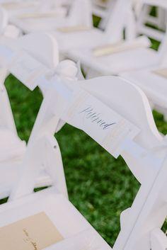 Reserved Signs | Wedding chairs decorations | Lebanese Wedding Athenian Riviera | Elegant Wedding | Luxury Weddings | Greek Island Weddings | Destination Wedding