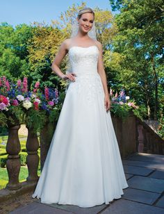 Sincerity Saffron - Style 3864 from Sincerity Bridal, Wedding Dresses, Bridesmaids Dresses and more at Bliss Bridal Salon! Sincerity Bridal Wedding Dresses, Wedding Dresses Photos, Wedding Dress Styles, Bridal Dresses, Wedding Gowns, Classic Wedding Dress, Cheap Wedding Dress, Wedding Gown Gallery, Illusion Neckline Wedding Dress