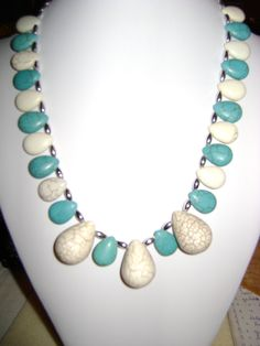 rosita dunkl Turquoise Necklace, Beaded Necklace, Jewelry, Fashion, Beaded Collar, Jewlery, Moda, Pearl Necklace, Jewels