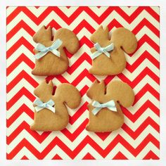 Christmas Gingerbread squirrels- IKEA cookie cutter