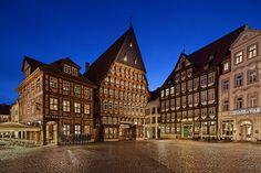 Marktplatz in Hildesheim, Niedersachsen, Northern Germany
