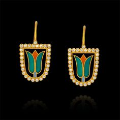 Object of Desire - diamond - earrings