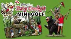 Davy Crockett Mini Golf in Gatlinburg, TN