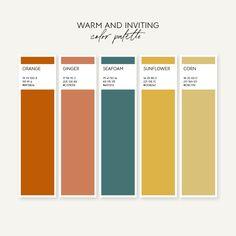 36 Colors Palettes Organized by Mood — Jordan Prindle Designs Pantone Colour Palettes, Color Schemes Colour Palettes, Colour Pallette, Pantone Color, Couleur Html, Palette Organizer, Sunflower Colors, Branding Design, Logo Design