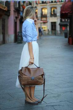 #//  Jeans Blouse #2dayslook #JeansBlouse #sunayildirim #anoukblokker   www.2dayslook.com