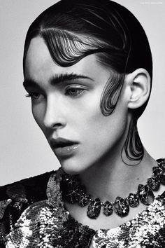 Factice Magazine   The French Fashion Magazine   Olga by Douglas McWall