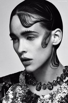 Factice Magazine | The French Fashion Magazine | Olga by Douglas McWall