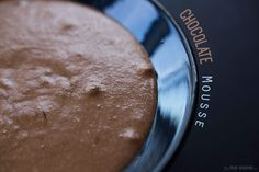 2-ingredient chocolate mousse