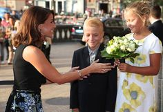 Princess Marie of Denmark Attended Opening Of Summit Meeting 'Better Food For More People' in Copenhagen