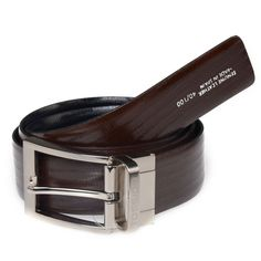 Tossido Brown Pure Leather Men - Belts