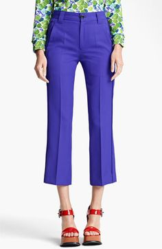 MARC JACOBS Technical Twill Crop Pants available at #Nordstrom - CAD $566.14