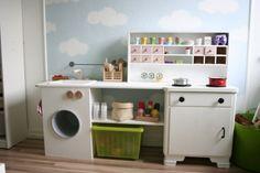 Küchentraum, Tags Kreatives + Kinderküche + Bastelideen + Kinderzimmer + Möbel