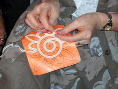 Luxeuil Tape Lace: ENCAJERAS DE BOLILLOS Ibn al Baytar: Dentelle de Luxeuil - La Rochefoucauld - 2010