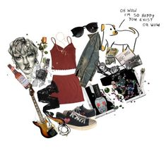 """""""the weirdo"""" by irissokk ❤ liked on Polyvore featuring Polaroid, Comme des Garçons, Wolford, Christies, Feather & Stone, A2 by Aerosoles and Ray-Ban"""