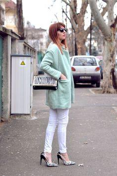 Light Green Coat http://therubberdoll.com/light-green-coat/