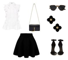 """""""Untitled #25"""" by omg-stylish ❤ liked on Polyvore featuring Alexander McQueen, Isabel Marant, Yves Saint Laurent, Tory Burch and Christian Dior"""