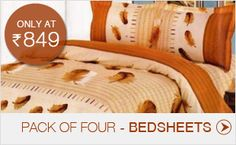 pack of four Bedsheets